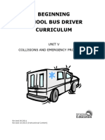 Unit v Collisions and Emergency Procedures Rev 10-2013