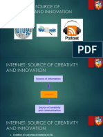 4. Internet as a Source of Creativity and Innovation