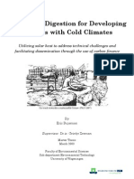 Eric Buysman - Anearobic Digestion for Developing Countries With Cold Climates - 25MAR09 - Master Thesis - PDF