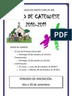 Cartel Catequese 2010-2011