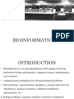 Unit 6 - Bioinformatics