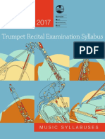 2017 Trumpet Recital Exam Syllabus