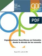 OPC Organizaciones Guerrilleras Colombia 29-07-16 Dv