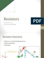 002.00 Resistors