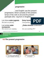 Progresive Verbs