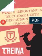Voz- A Importância de Cuidar Deste Instrumento de Trabalho_e-book
