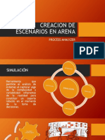 Creacion de Escenarios en Arena Con Process Analyzer