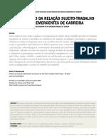 Bendassolli 2009 - Recomposição da relação sujeito-trabalho nos modelos emergentes de carreira.pdf