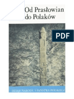Jan Strzelczyk - Od Praslowian Do Polakow