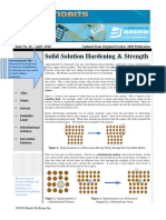 Issue No 16 Solid Solution Hardening Strength