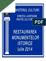 29 Raport Restaurare Monumente 2014 Final