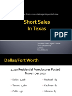 Short Sale Power Point