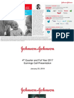 JNJ Earnings Presentation 4Q2017