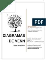 Teoria de Venn. Alberto Gonzalez Basulto.
