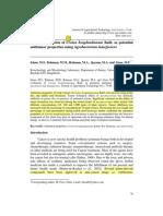 Evaluation of Croton Bonplandianum Anti Tumour