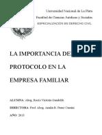 La Importancia Del Protocolo en La Empresa Familiar