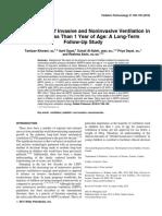 A Comparison of Invasive and Noninvasive Ventilation In