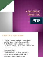 Cancerele Digestive