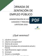 Jornada de Presentación de Empleo Público