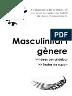 Masculinidad y Genero