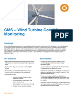Uniper Technologies Wind Turbine Condition Monitoring CMS