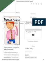 ¿Cómo Gestionas Tu Proyecto_ ¿Ágil o Tradicional_ - Wolf Project