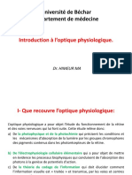Introduction à l'optique physiologique