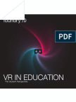 VR in Education Student Perspective