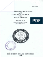 IRC-5-1998(Std Spe and Code of Practice for Road Bridges I)