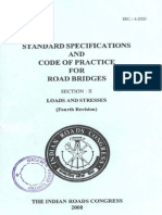 IRC-6-2000(Std Spe and Code of Practice for Road Bridges II)