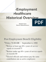 1.23.18 Post-Employment Healthcare Historical Overview