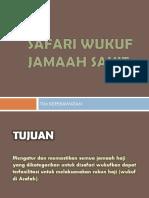 Proses Safari Wukuf-1