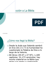 01-Introduccion a La Biblia