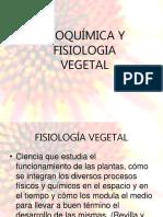 Bioquimica y Fisiologia Vegetal