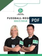 Fussballregeln 2017