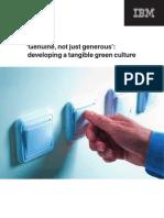 IBM Genuine Culture Paper