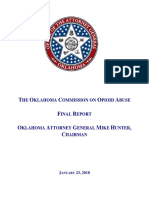 Oklahoma Commission on Opioid Abuse Final Report