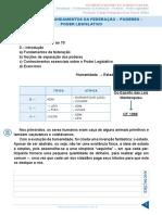 Aula 01 - Introdução - Fundamentos Da Federação - Poderes - Poder Leg