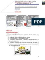 Etica Del Codigo Deontologico