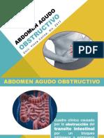 Abdomen agudo quirúrgico obstructivo