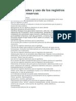 Generalidades y Uso de Los Registros Eléctricos Reservas