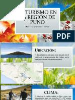 El Turismo en La Región de Puno