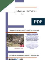 Segunda Clase Restauración Urbana