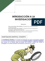 1. Introduccion a La Investigacion