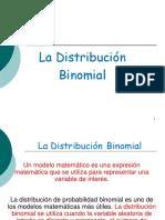 La Distribucic3b3n Binomial