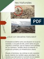 Desastres Naturales Ppt Medina