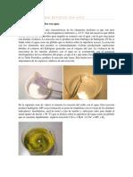 Reacción de Sodio Metálico Con Agua