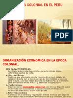 La Economia Colonial en El Peru