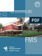 FMS Admission Brochure 2011 (1)