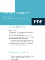 Inverse Kinematics Introduction(1)